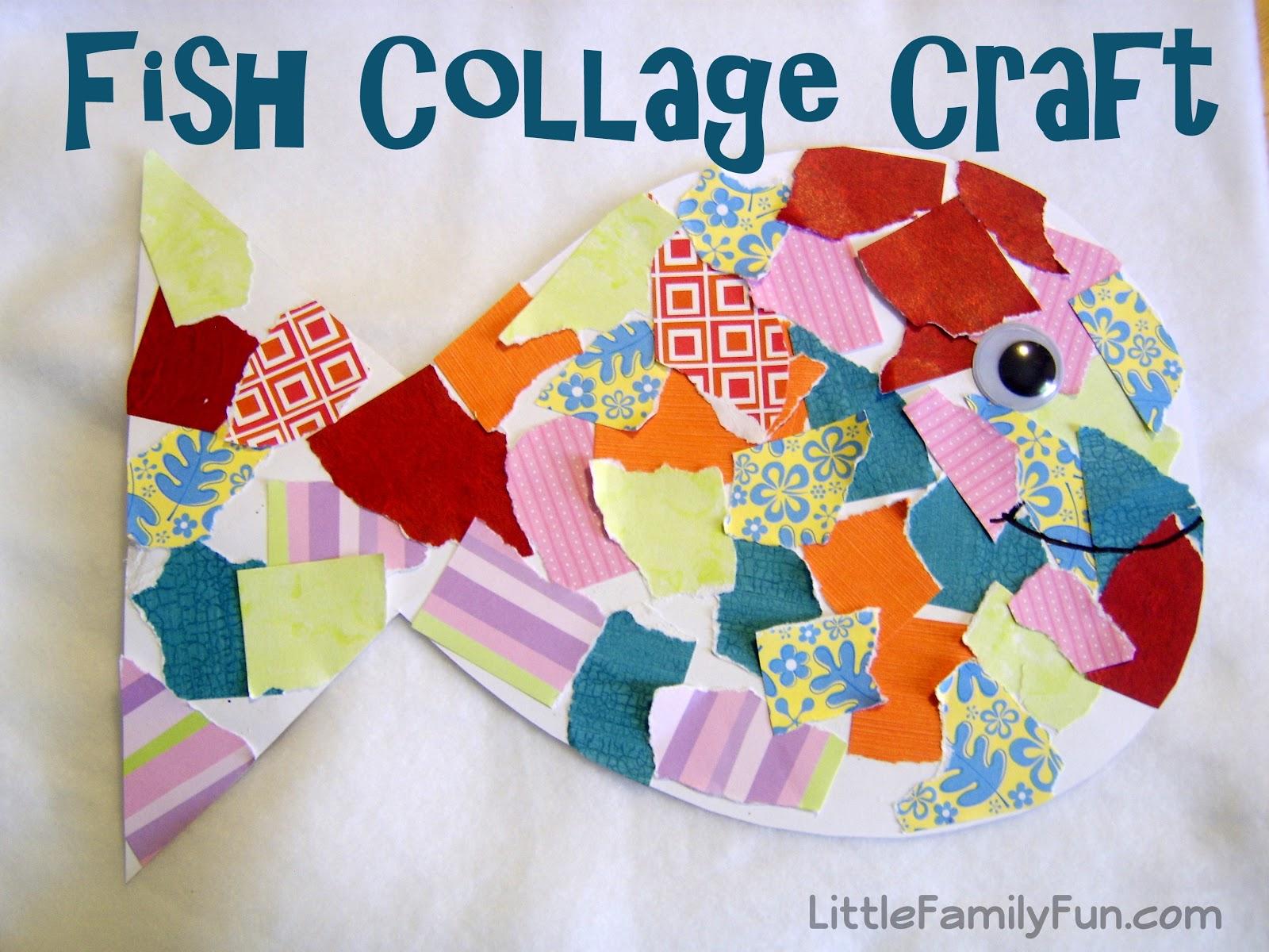 preschool collage fish collage 960