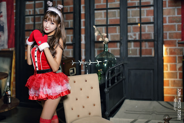 1 Jo In Young - merry christmas - very cute asian girl-girlcute4u.blogspot.com