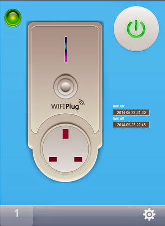 WiFi plug PC interface for simple control over electrical devices. Great for affordable basic environmental control.