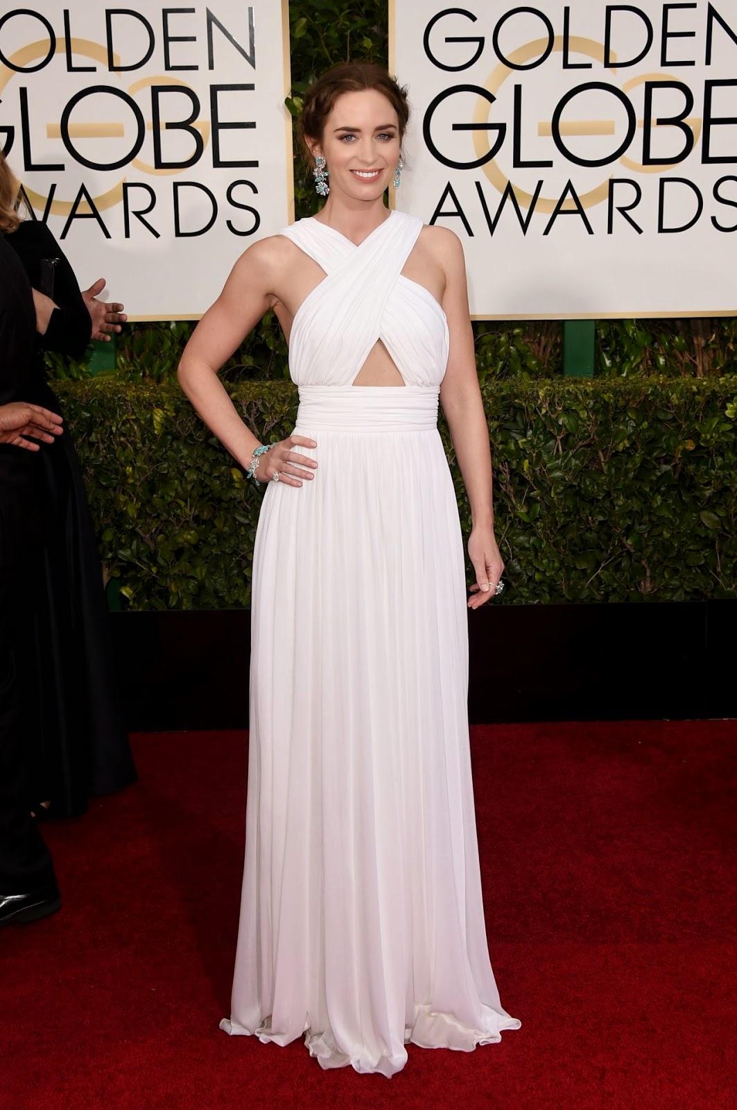 Emily Blunt – 2015 Golden Globe Awards in Beverly Hills