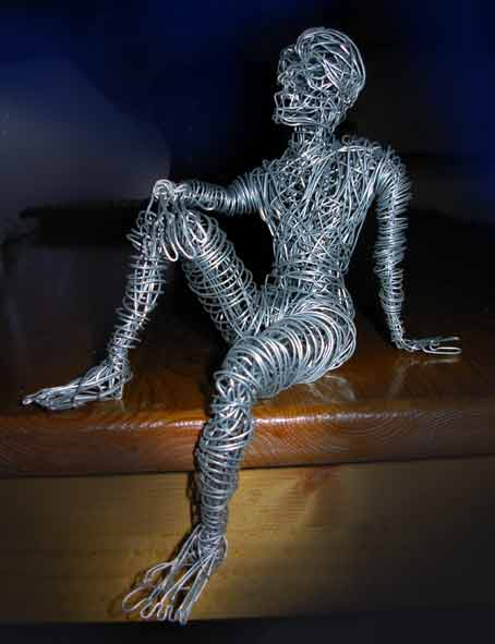 Amy shillitoe art and design level 3 3d wire sculpture for 3d sculpture artists