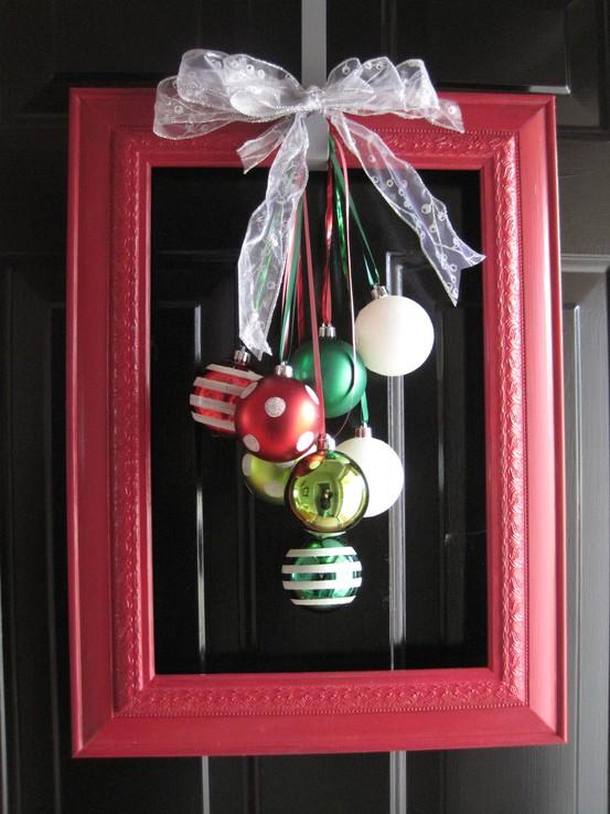 Creatively christy lovely little framed ornaments