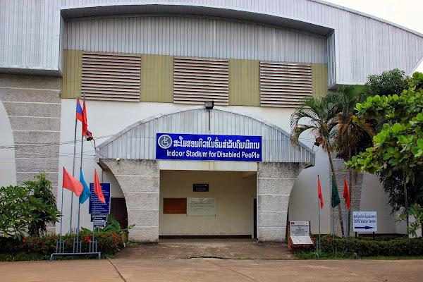 Stade handicapé par COPE