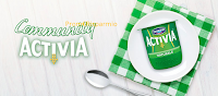 Logo Activia Community vi porta a fare la spesa con intervista regalandovi Buoni sconto e prodotti