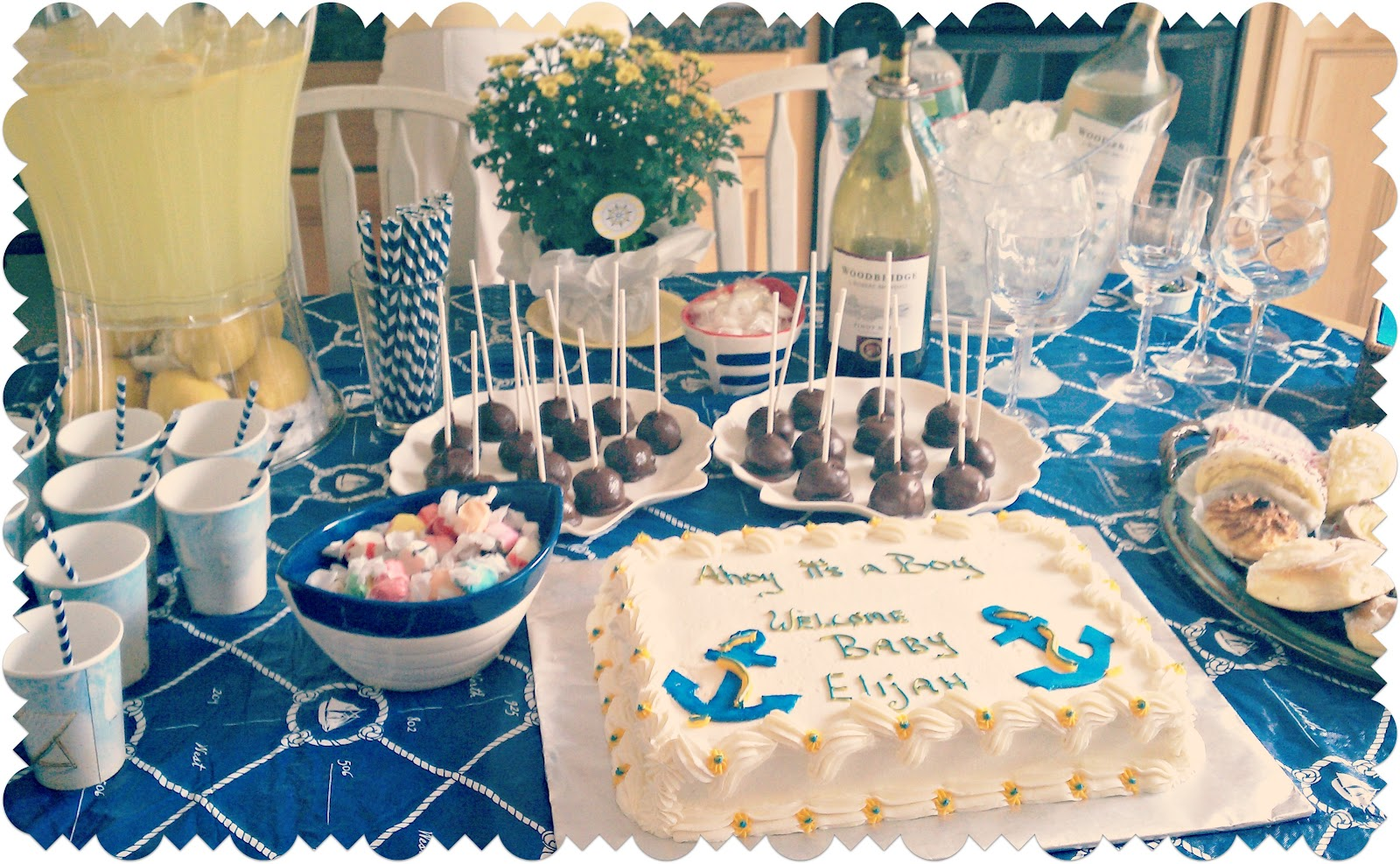 Baby boy baby shower decorations best baby decoration for Baby boy shower decoration ideas