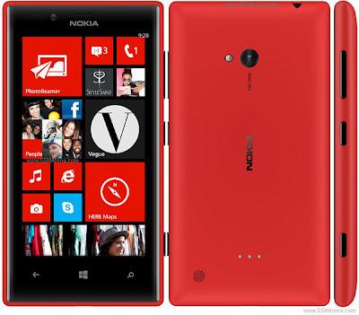 Spesifikasi Nokia Lumia 720
