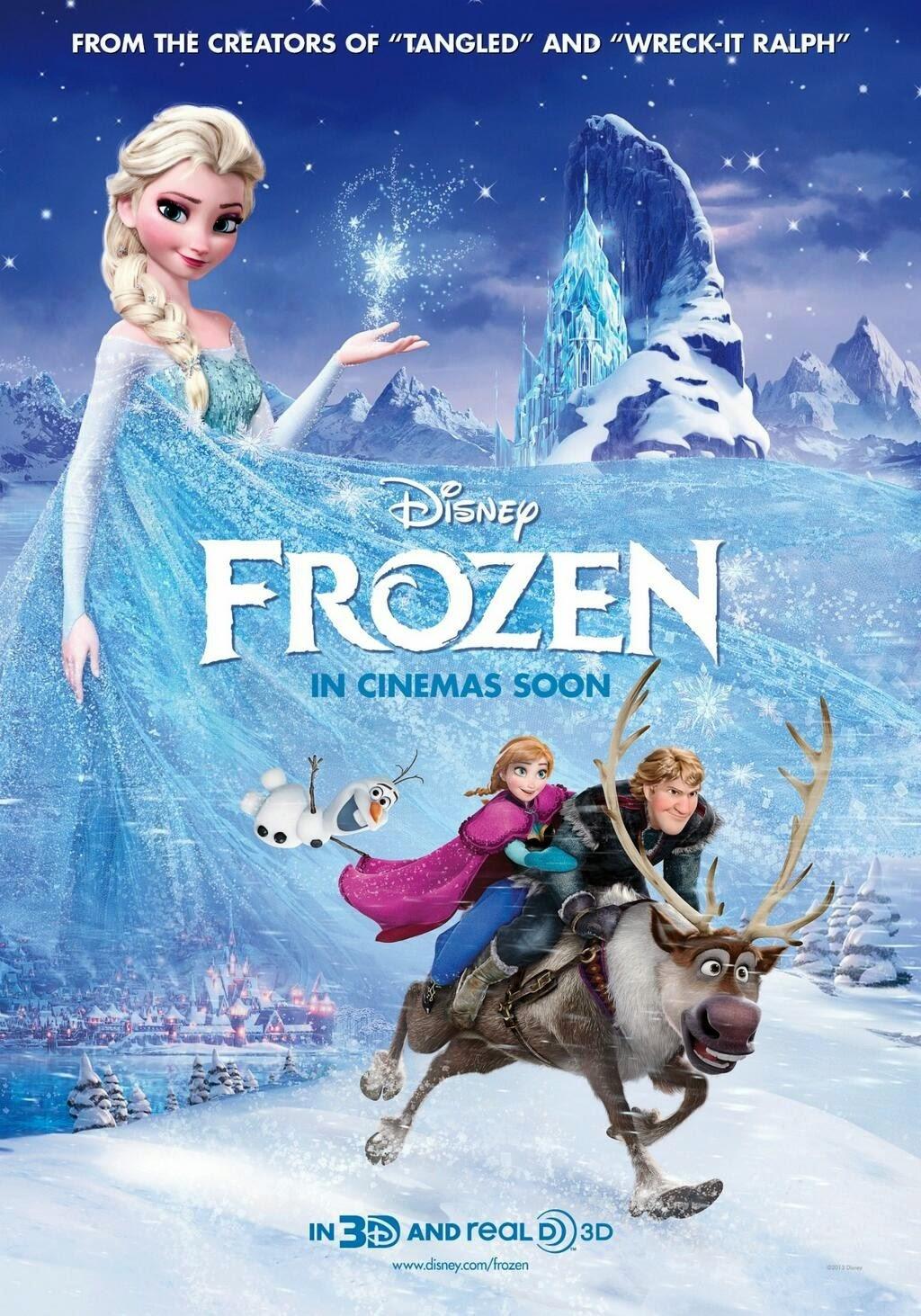 Download Frozen (2013) BluRay 720p 5.1 CH