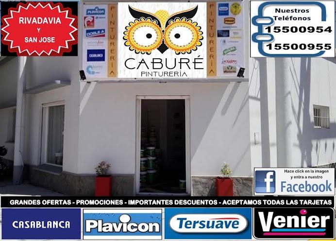 ESPACIO PUBLICITARIO: CABURE PINTURERIA