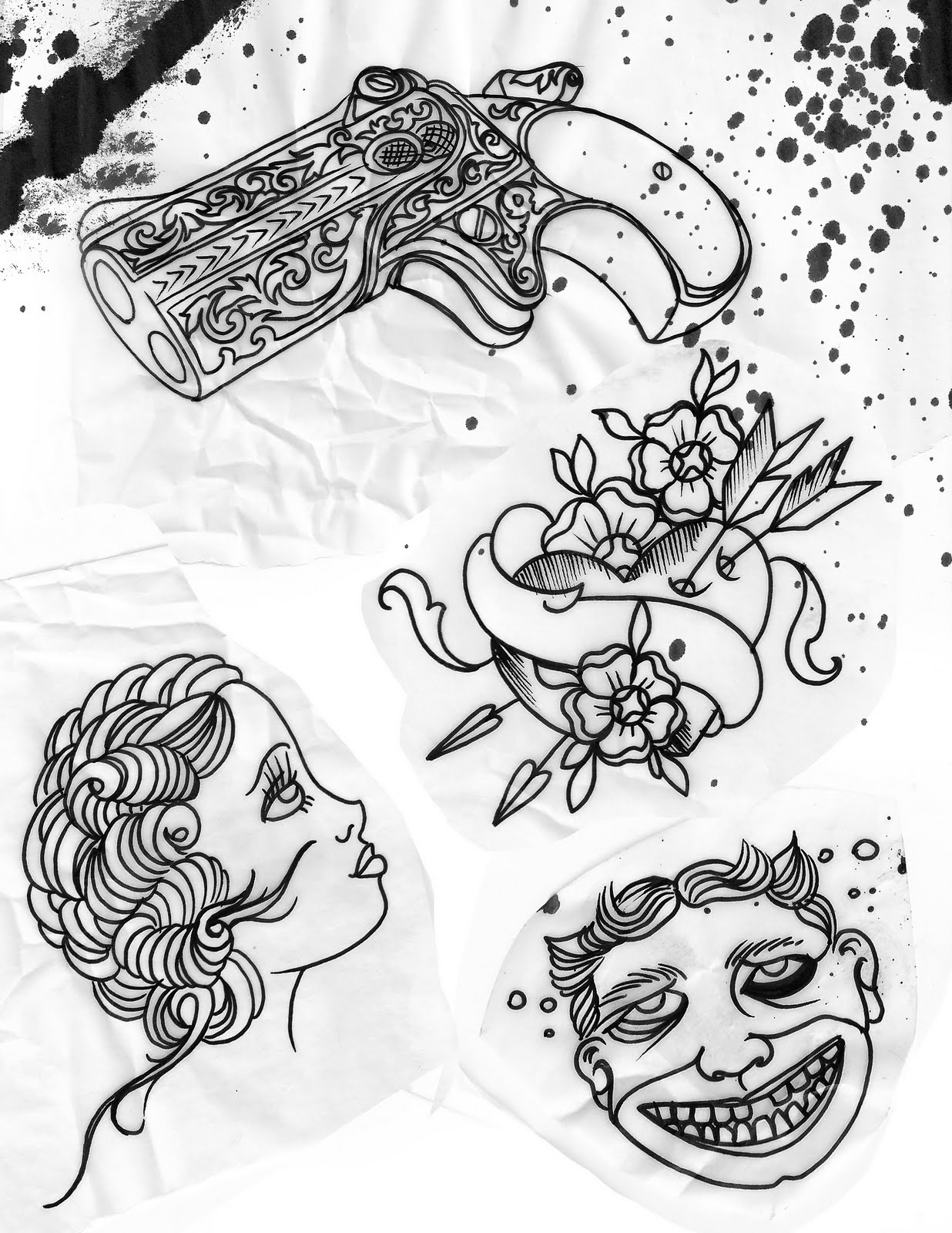 the skinny citizen ink blog 50 off custom tattoo designs 10 24 10 31. Black Bedroom Furniture Sets. Home Design Ideas