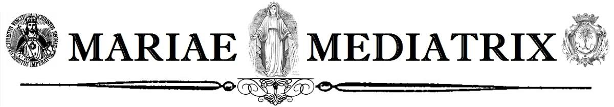 Mariae Mediatrix