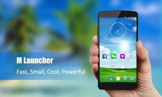 M Launcher Prime Versi 1.8 Android