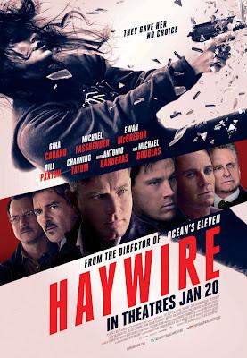 Haywire, piégée, Soderbergh, Fassbender, Tatum, poster, affiche