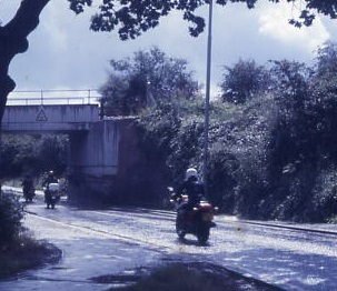 New Newgate Lane bridge 1985