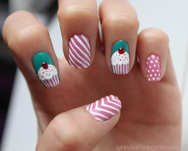 Colorful nail designs 2015