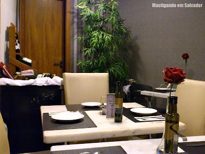 Zafferano Cucina Italiana: Ambiente interno