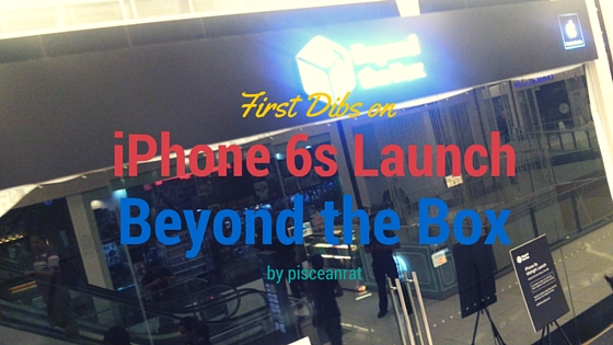 I was pretty amped up to know that Beyond the Box will have a Midnight Launch on the iPhone 6s and iPhone 6s Plus!!!
