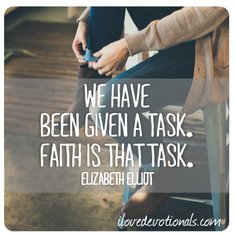 ELIZABETH ELLIOT QUOTE
