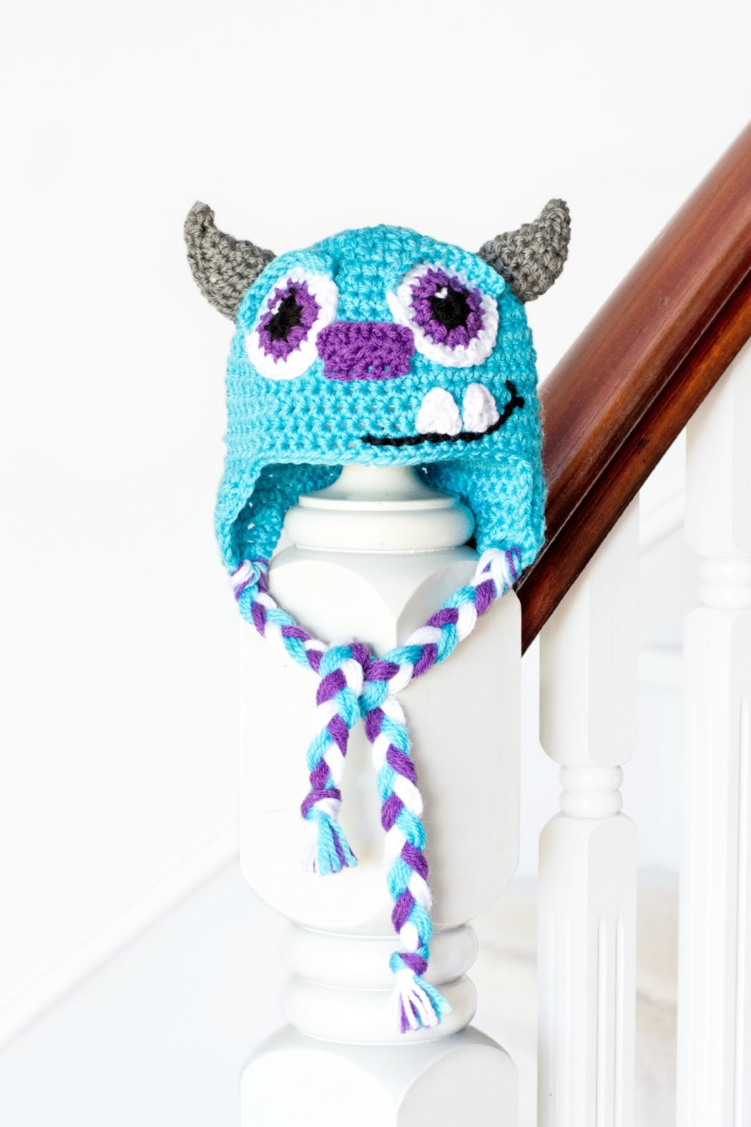 Free Crochet Patterns For Disney Hats : Hopeful Honey Craft, Crochet, Create: Monsters Inc ...