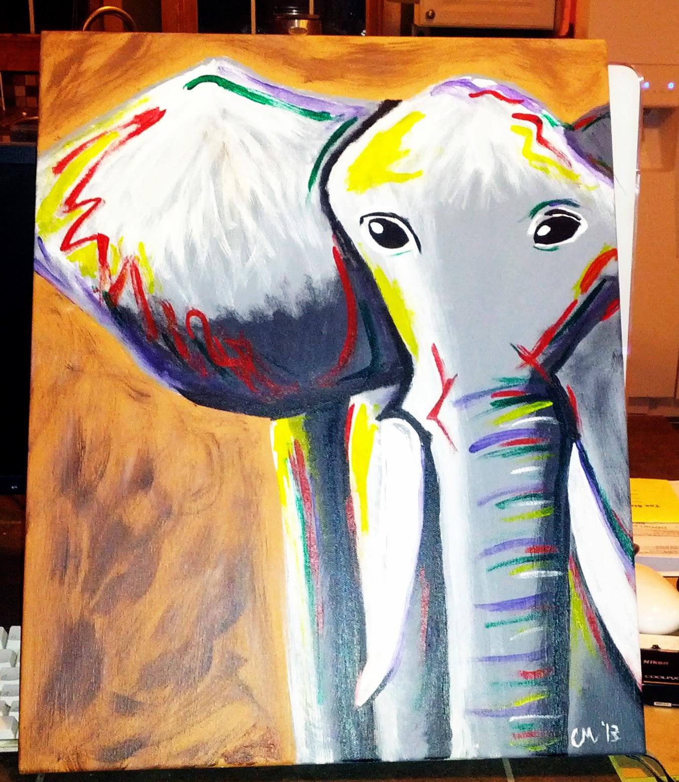 Painting Elephants