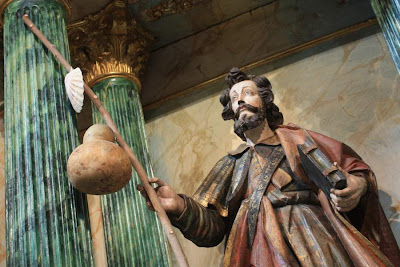 Sculpture of Saint James