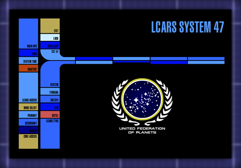 lcars 47: the story behind lcars 47, Presentation templates