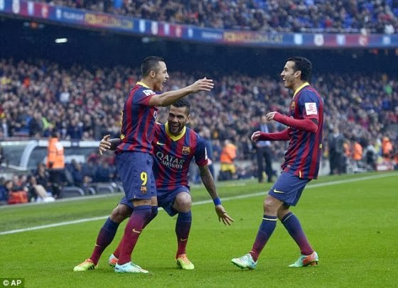 Prediksi Espanyol vs Barcelona – Liga Spanyol 29 Maret 2014