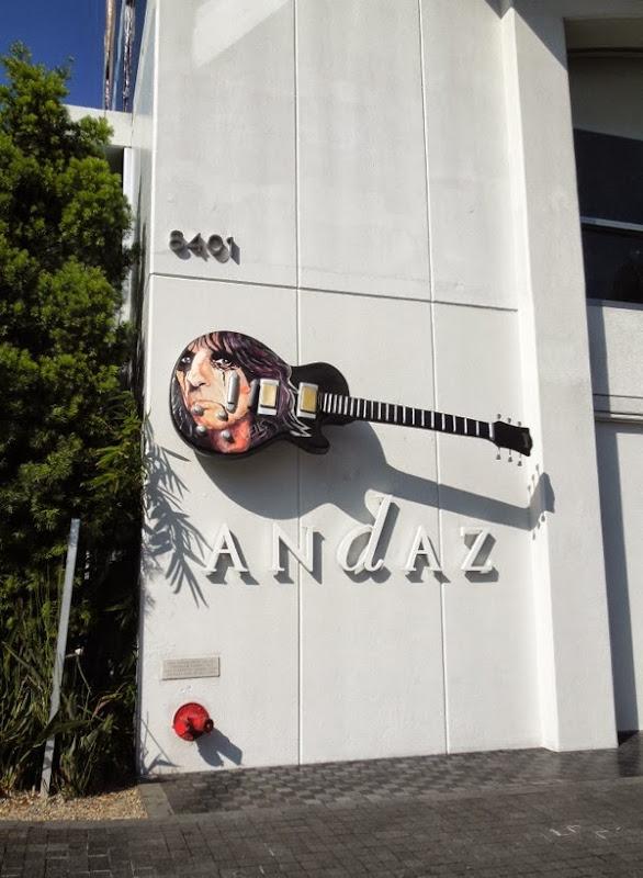 Alice Cooper GuitarTown tribute sculpture Stacey Wells
