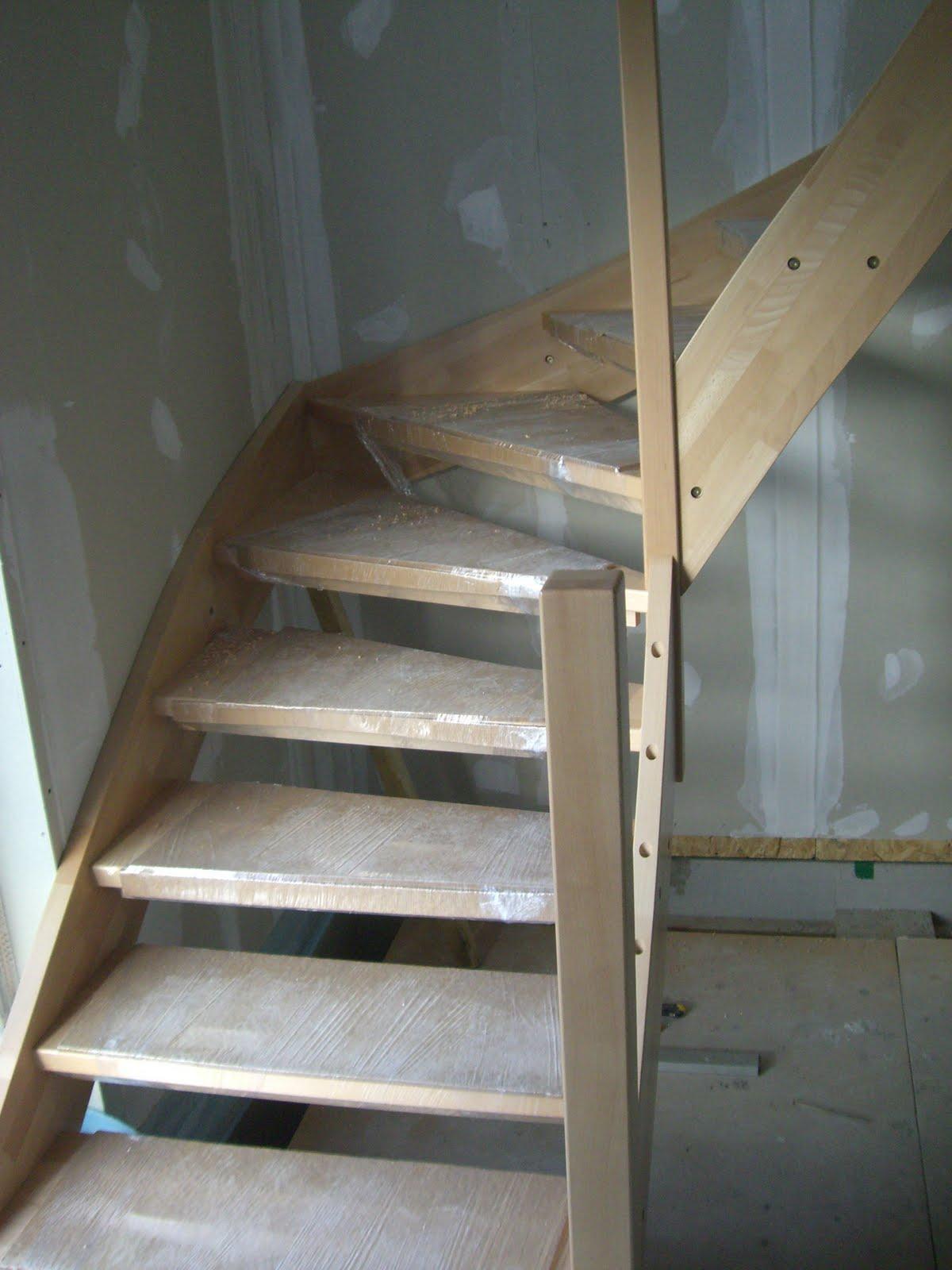 Treppen Ohne Geländer christian susi bauen ein haus mit danwood die treppe mit und ohne