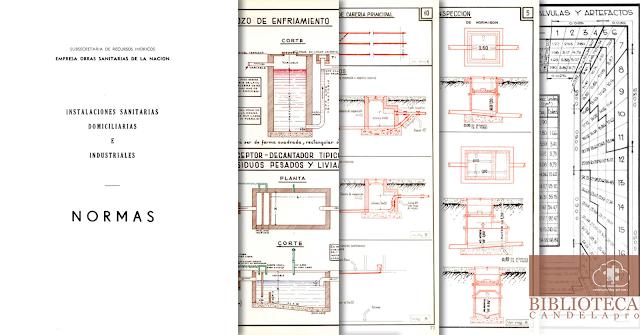 Instalaciones sanitarias domiciliarias e industriales: NORMAS [Subsecretaría de recursos hídricos de la nación]