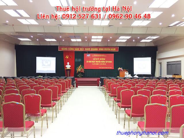 Cho thuê hội trường  300 chỗ tại Hà Nội