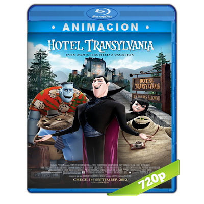 Hotel Transylvania (2012) BRRip 720p Audio Trial Latino-Castellano-Ingles 5.1