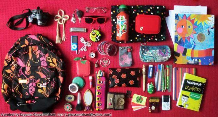 Что я ношу в школьной сумке