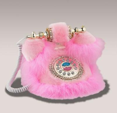 Гламурный телефон для блондинок.