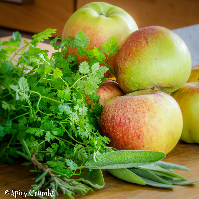 vepřová pečeně s jablky
