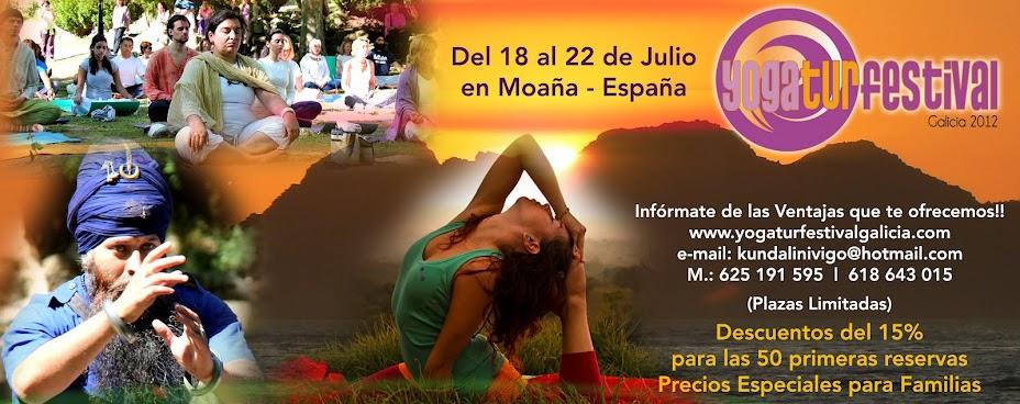 Festival de Kundalini Yoga en Galicia 2012: Yoga Festival 2012