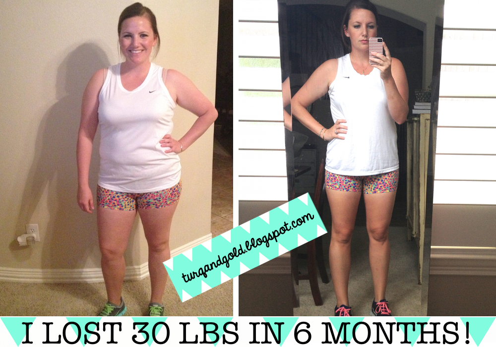 Turquoise & Gold: I LOST 30 POUNDS! And hated every second ...
