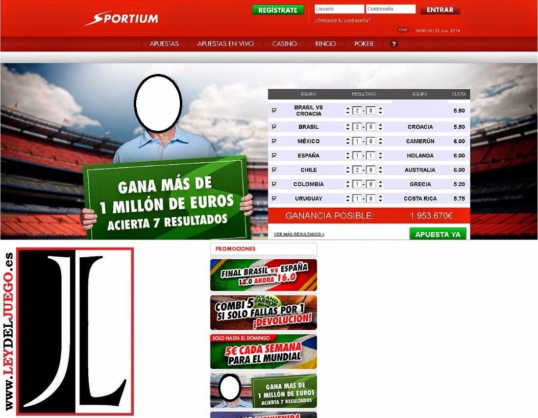 sportium anuncio millonario