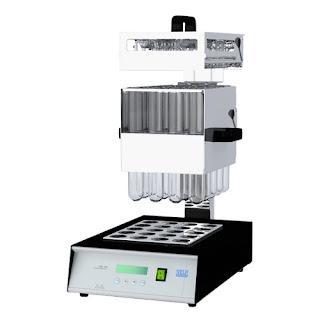 máy phá mẫu kjeldahl , dk20, velp - ý , hệ thống phân tích đạm , bộ phá mẫu đạm