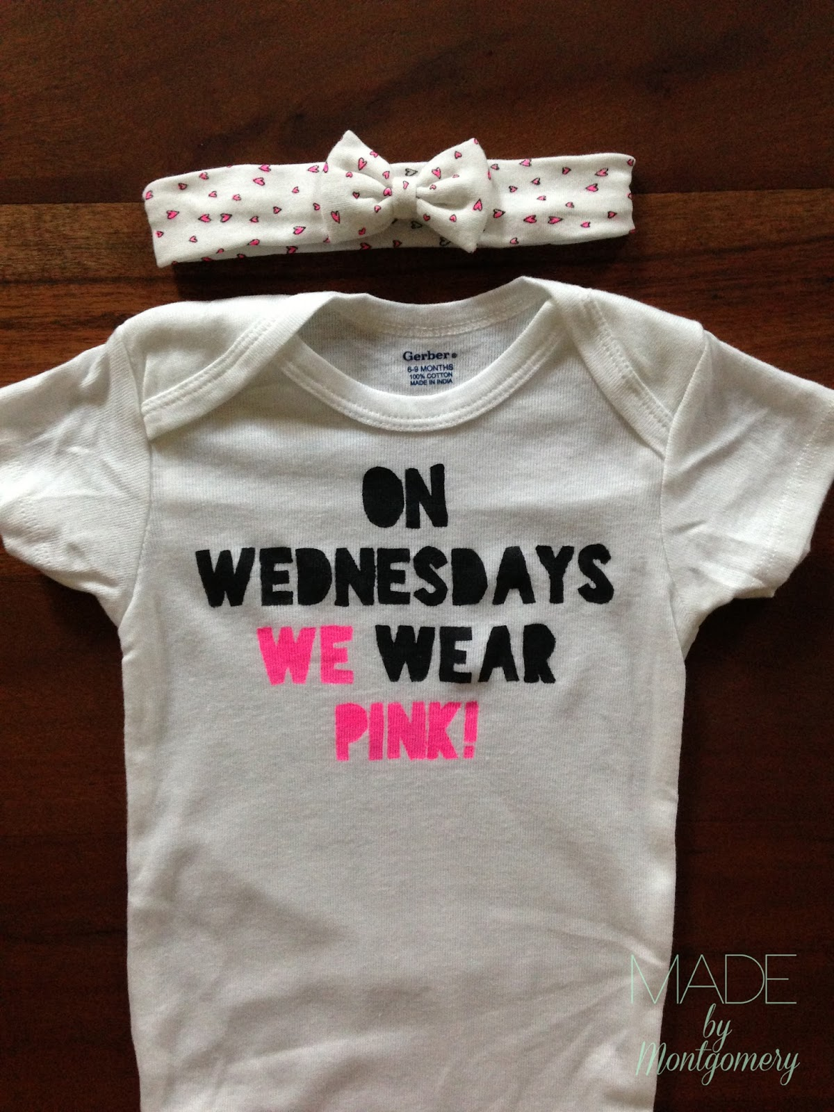 Made by montgomery a whole slew of onesies for Custom t shirts montgomery al