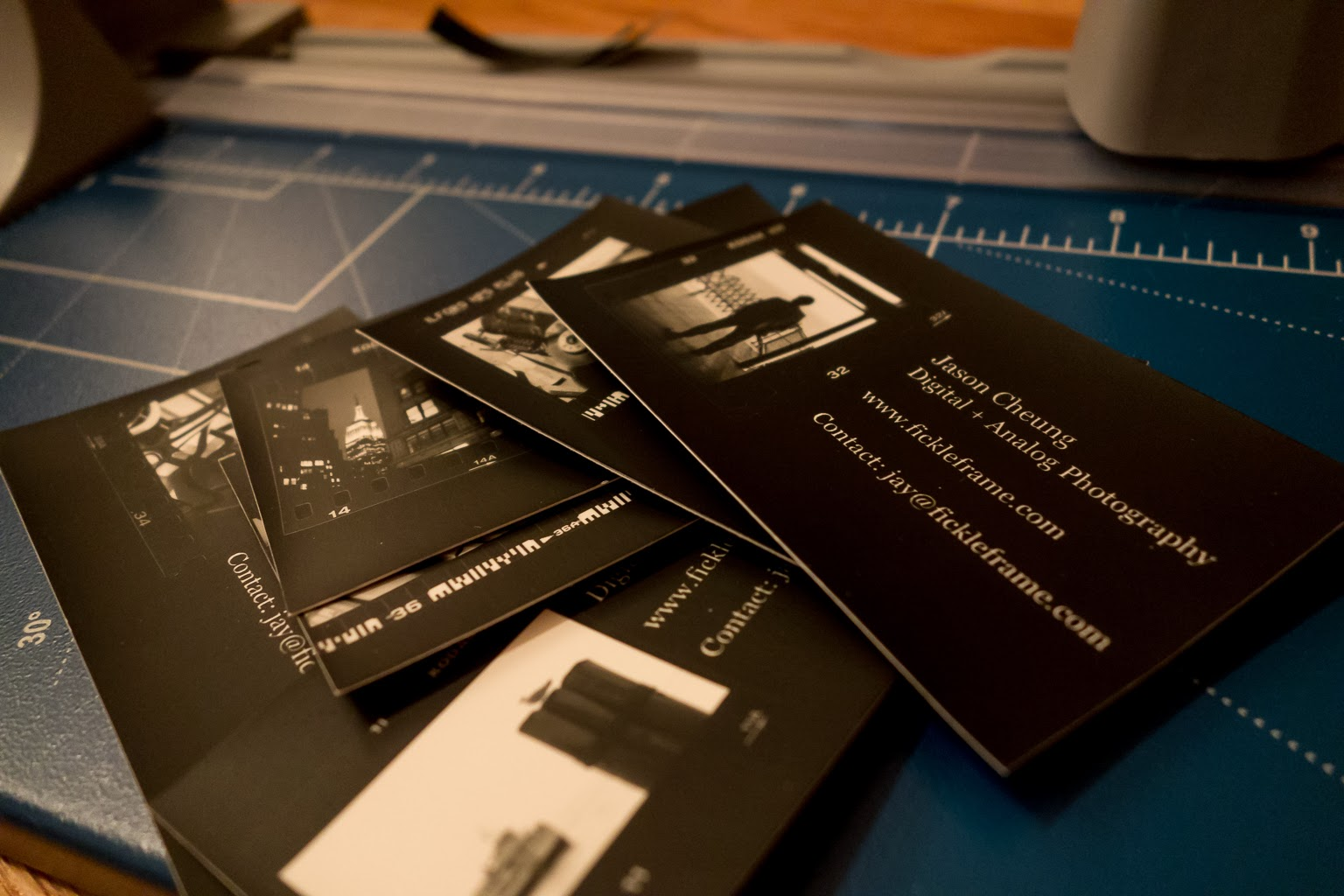 The Fickle Frame: Business Cards and Contact Printing