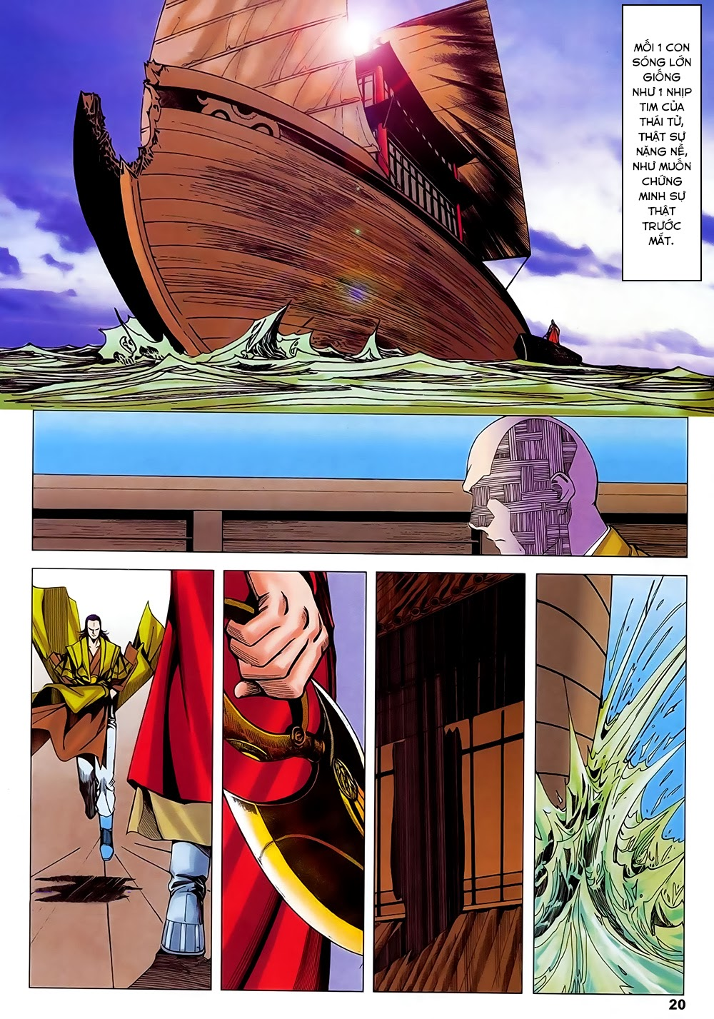Lục Đạo Thiên Thư chap 31 - Trang 20