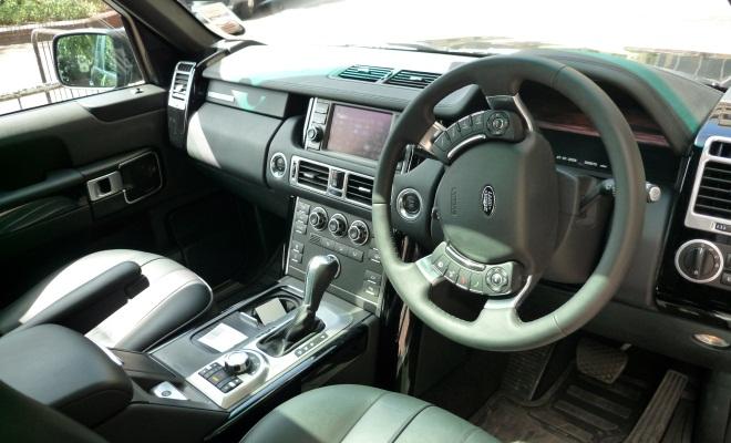 E-Range interior