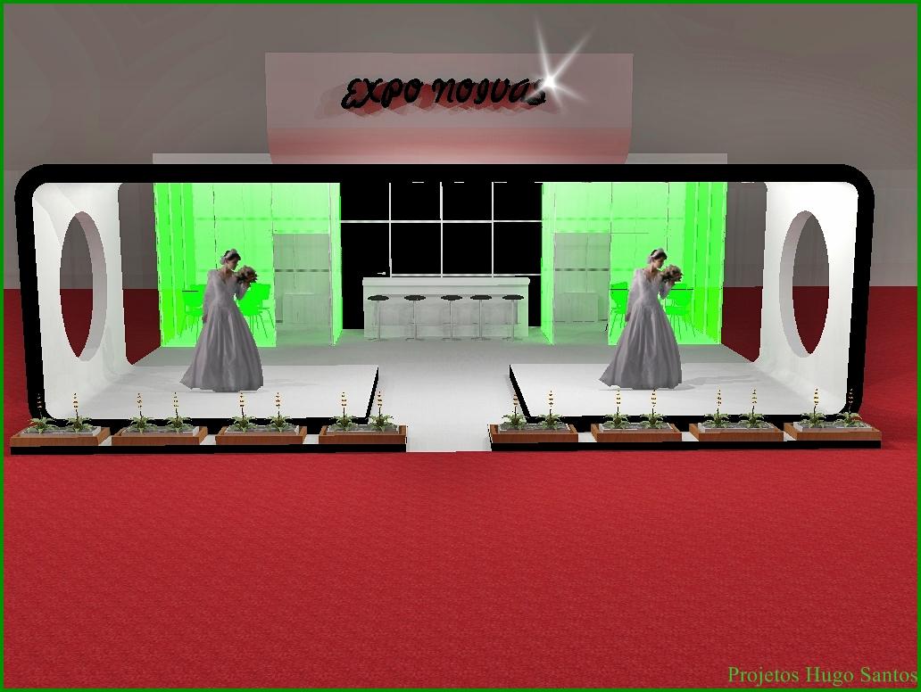 Expo Noivas Stands : Projetos de stands para feiras e congressos