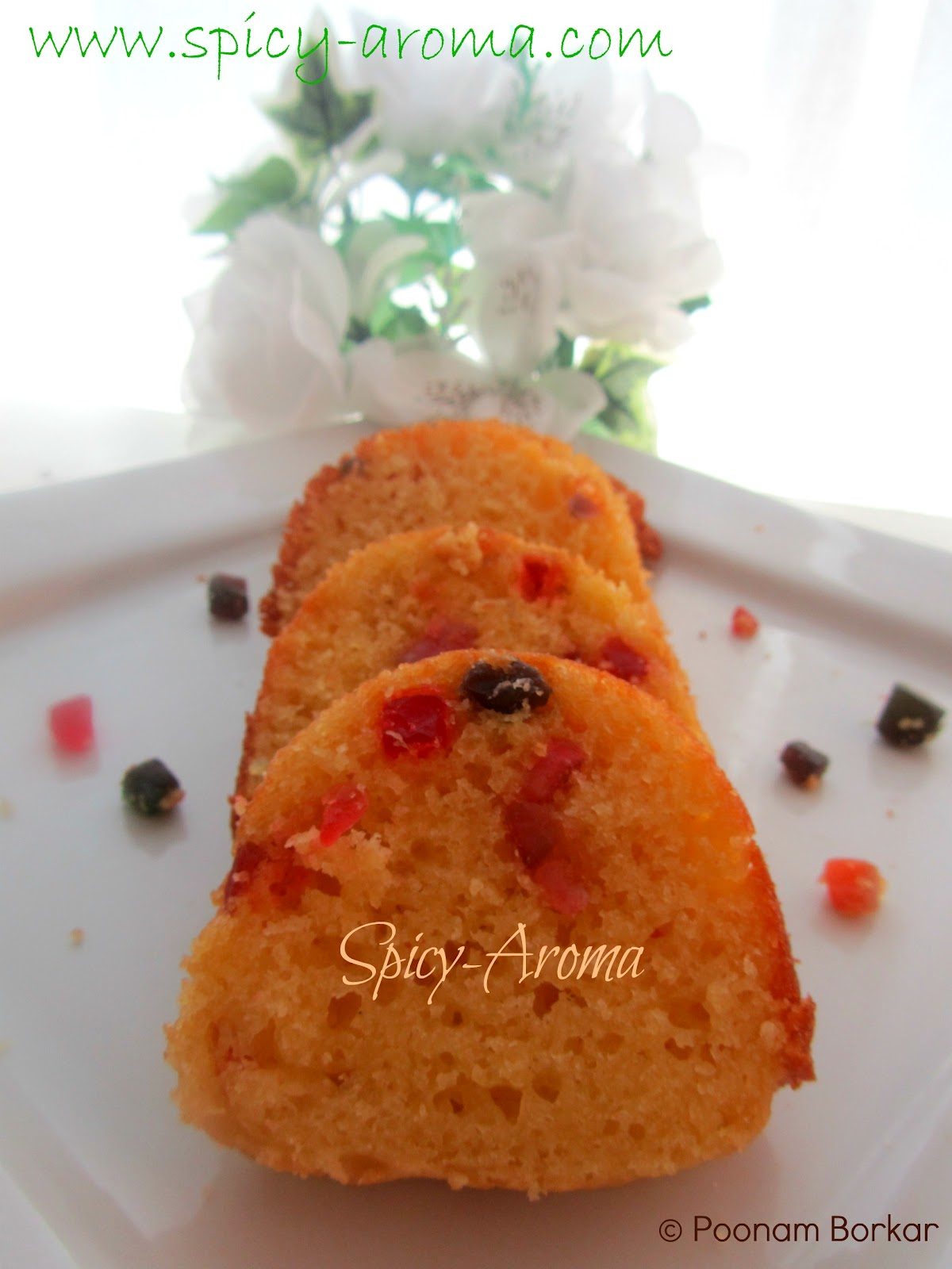Tutti Frutti Cake Step By Step Recipe