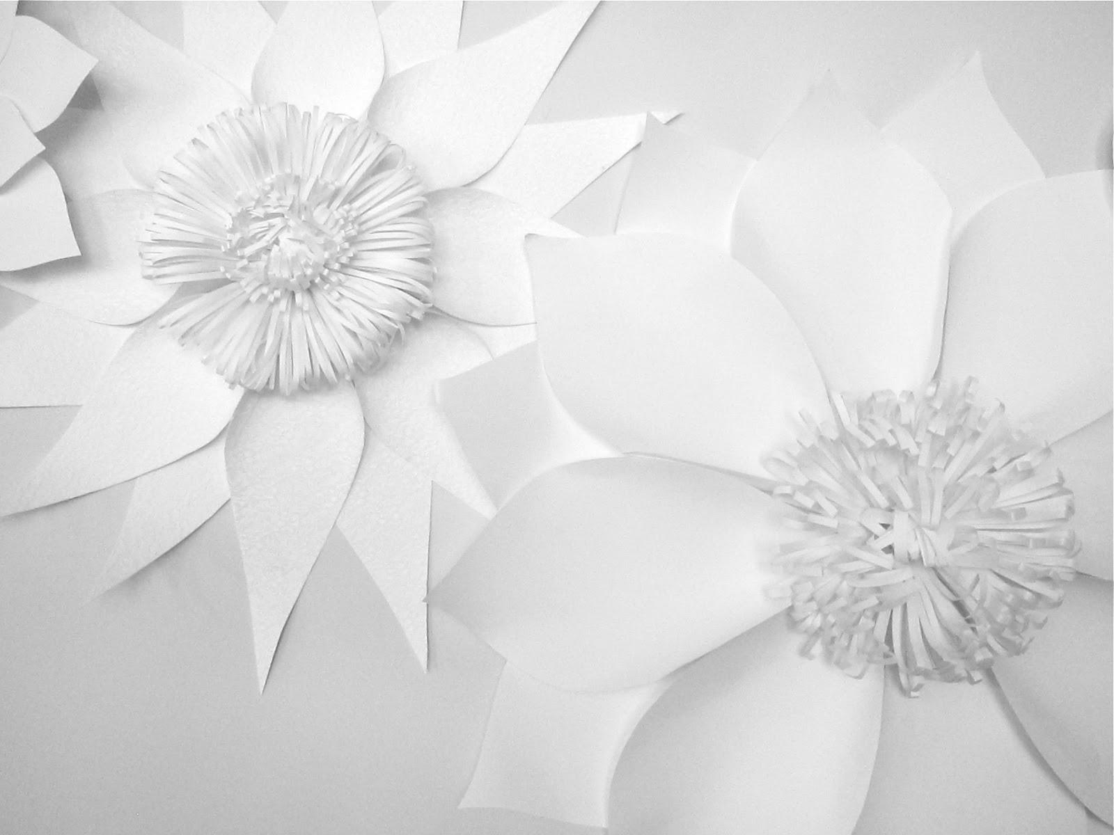 Paper Floral Artistry Aeva Wedding Party Blog