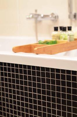 drewno w łazience drewniana podłoga w łazience