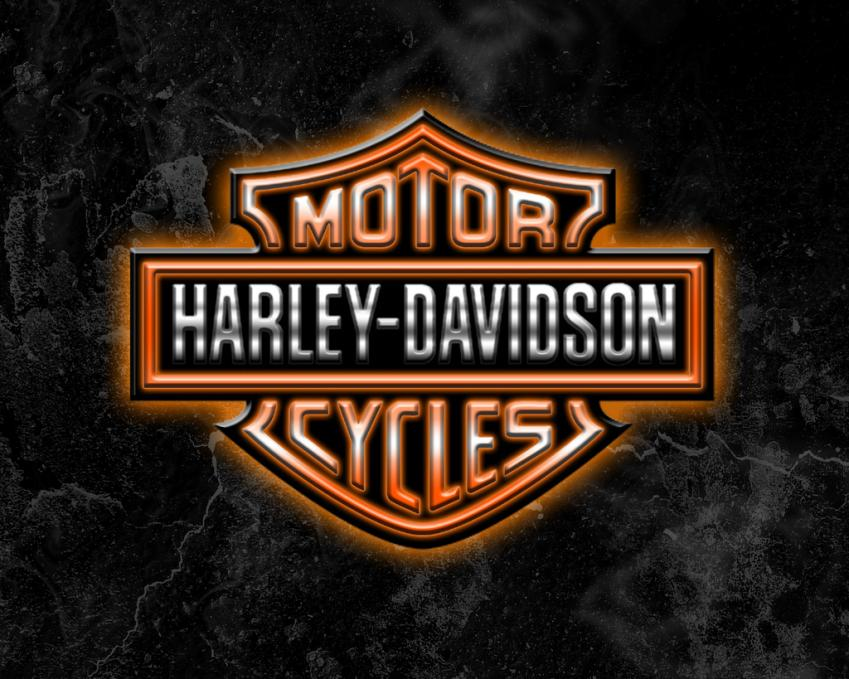 newest harley davidson logo wallpapers - photo #5