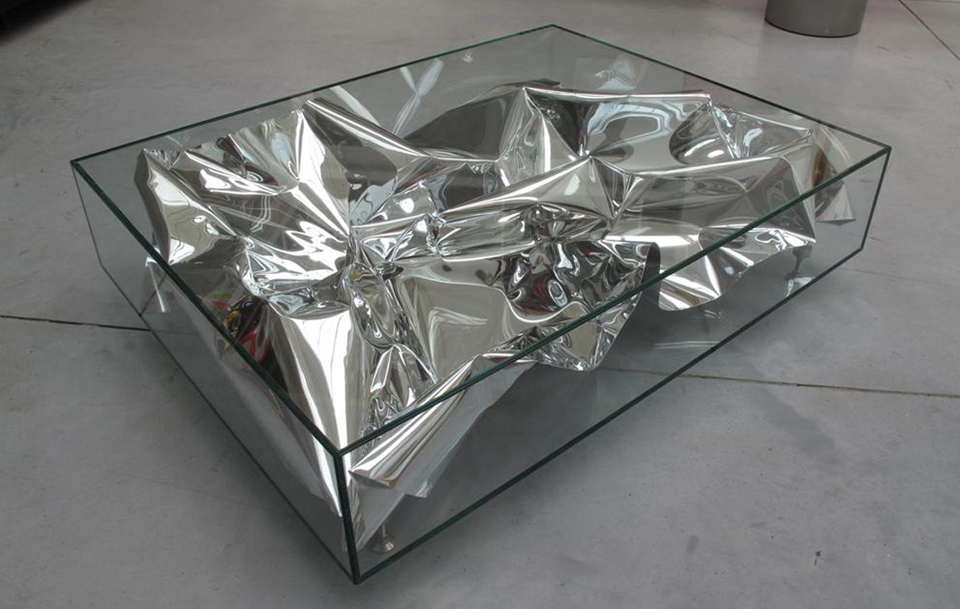 Silver Crush Table, 2011.