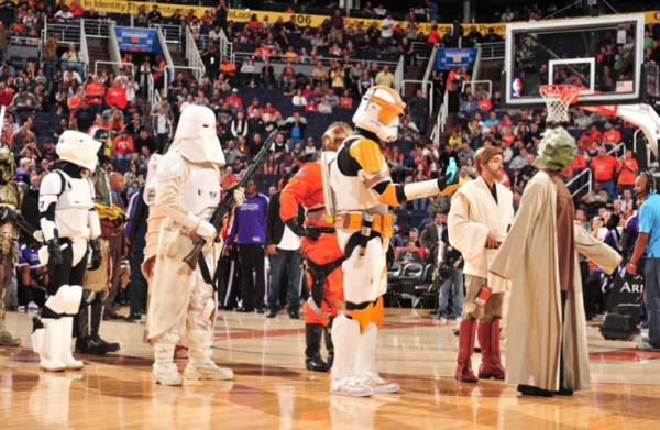 La NBA se contagia de la fiebre Star Wars