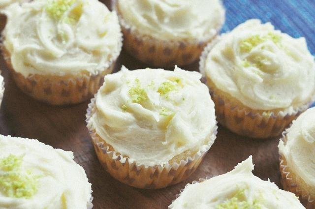 Citronu Kapkeiki // Lemon Cupcakes